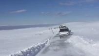 KARACADAĞ - Karacadağ'a Giden Kayakçılar Mahsur Kaldı