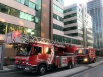 Maltepe Devlet Hastanesinde Yangın Paniği