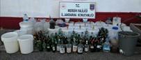 ALKOLLÜ İÇKİ - Mersin'de 465 Litre Sahte İçki Ele Geçirildi