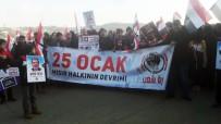 PROTESTO - Mısır Devriminin 9'Uncu Yılında İstanbul'da Eylem