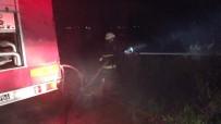 ANTALYA - Müstakil Evin Bahçesinde Çıkan Yangın Korkuttu