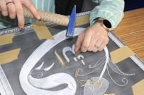 MINYATÜR - Naht Sanatı Ve Filografi İle Stres Atıyorlar