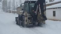 YOLCU MİNİBÜSÜ - Özalp İlçesinde Kar Yağışı