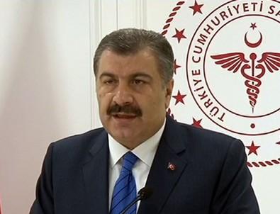 Sağlık Bakanı Koca: Şu ana kadar havalimanındaki taramalarda şüpheli vakaya rastlamadık