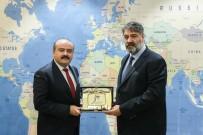 KARABÜK ÜNİVERSİTESİ - Tarım Ve Orman Bakan Yardımcısı Fatih Metin'den Rektör Polat'a Ziyaret