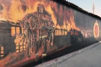 EDİRNE - Trakya Üniversitesi Güzel Sanatlar Fakültesi Öğrencileri Edirne'yi Sanatla Süslemeye Devam Ediyor