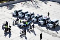 Yeni Polis Araçları Törenle Hizmete Girdi