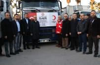 ADANA VALİSİ - Adana'dan Elazığ'a Gönderilen Yardım Tırları Yola Çıktı