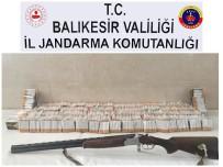 İSTIHBARAT - Balıkesir'de Kaçak Sigara Satan Şahıs Yakalandı