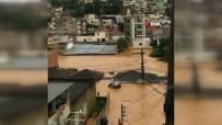 HAMİLE KADIN - Brezilya'da Sel Açıklaması En Az 14 Ölü, 16 Kayıp