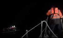 Enez'de Bot İçerisindeki 14 Düzensiz Göçmen Yakalandı