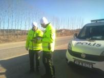 EMNİYET AMİRLİĞİ - Hisarcık Polisinden Trafik Uygulaması