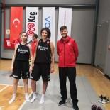 GEVREK - Isparta'dan 1 Antrenör Ve 2 Sporcu Milli Takım Kampına Katıldı