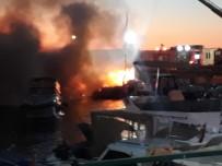 Kartal'da Marinada 6 Tekne Alev Alev Yandı Açıklaması 1 Yaralı