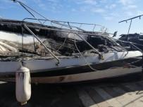 Kartal'da Teknelerin Yandığı Olayın Ayrıntıları Oraya Çıktı