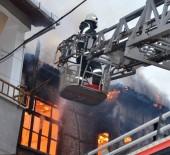 Ordu'da Korkutan Yangın Açıklaması Bina Alev Alev Yandı