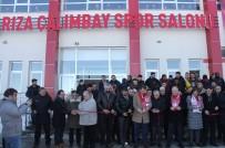 AÇILIŞ TÖRENİ - Rıza Çalımbay'ın İsmi Spor Salonuna Verildi