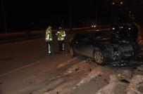 Seydişehir'de Otomobiller Çarpıştı Açıklaması 3 Yaralı