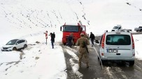 Siirt'te Trafik Kazası Açıklaması 1 Yaralı