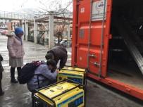 Tosya'da Deprem Konteynerleri Kontrolden Geçti