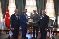 Türkiye Judo Federasyonu Başkanı Sezer Huysuz, Vali Soytürk İle Buluştu