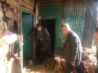 Vali Aykut Pekmez Depremin Hasar Verdiği Bölgede İncelemede Bulundu