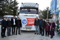 Afyonkarahisar'dan Elazığ'a Yardım Tırı Yola Çıktı