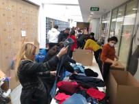 KıSıKLı - Ataşehir'den Elazığ'a Gönderilen Paketlerden Çıkan Notlar Duygulandırdı