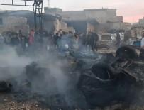 TERÖR SALDIRISI - Azez'de terör saldırısı: 5 sivil hayatını kaybetti