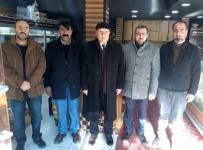 ŞEHİRLERARASI OTOBÜS - Başkan Pekmezci'den Esnaf Ziyareti