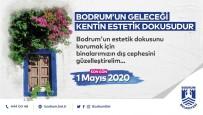 TURİZM SEZONU - Bodrum'da Binaların Dış Cepheleri Güzelleşecek