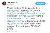MİLLİ FUTBOLCU - Cedi Osman'dan Depremzedelere Büyük Destek