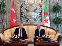 ENERJİ VE TABİİ KAYNAKLAR BAKANI - Cumhurbaşkanı Erdoğan, Cezayir Cumhurbaşkanı Tebbun İle Görüştü
