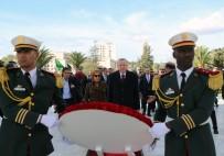 ENERJİ VE TABİİ KAYNAKLAR BAKANI - Cumhurbaşkanı Erdoğan Cezayir'de Şehitler Abidesi'ni Ziyaret Etti