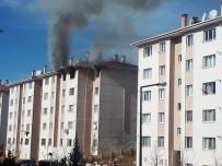 Depremin vurduğu Elazığ'da yangın