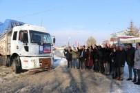 Edremit Belediyesinin İkinci Yardım Tırı Yola Çıktı