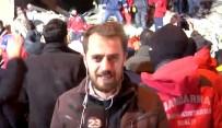 Enkazdan Sağ Çıkarılmayı Anlatan Muhabir İzleyenleri Duygulandırdı