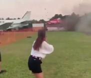 DENEME UÇUŞU - Guatemala'da Akrobasi Uçağı Düştü Açıklaması 3 Ölü