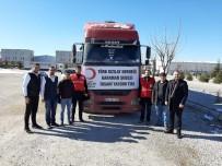 SOSYAL MEDYA - Kızılay Karaman Şubesi'nden Elazığ'a Bir Tır Dolusu Yardım