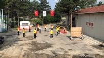 TATBIKAT - Taşköprü Belediyesi İtfaiye Ekipleri, 19 Ev Yangınına Müdahale Etti