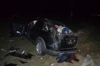 POLİS EKİPLERİ - Tekirdağ'da Trafik Kazası Açıklaması 2 Yaralı