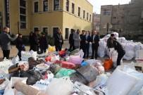 Turgutlu'da Depremzedeler İçin 24 Saatte İki Tır Dolusu Yardım Toplandı