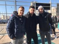 ALANYASPOR - Zoran, Sapunaru Ve Lung Tribünden İzledi