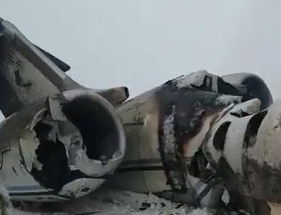 Afganistan'da düşen uçakta ABD askeri var mıydı?