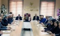 HAVA KIRLILIĞI - AK Parti Van İl Başkanlığı Yönetim Kurulu Toplantısı Yapıldı