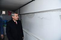 Başkan Çınar, Depremde Hasar Gören Ev Ve İş Yerlerini İnceledi