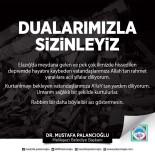 Başkan Palancıoğlu Açıklaması 'Belediyemiz Tüm İmkanları İle Elazığ'a Desteğe Hazır'