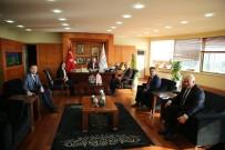 Başkanlardan Aydıner'e Ziyaret