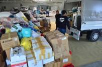 Bodrum İki Tır Dolusu Yardım Malzemesini Elazığ'a Uğurladı