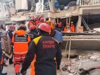 KURTARMA EKİBİ - Büyükşehir Belediyesi İtfaiyesi Arama Kurtarma Ekibi Kayseri'ye Döndü